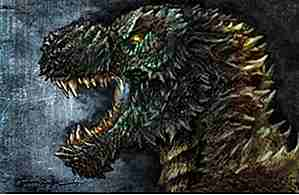 25 Insane Fan Art Avbildninger av Godzilla