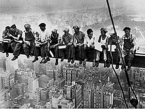 25 photos impressionnantes de l'Empire State Building en construction