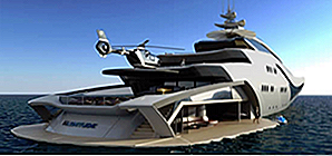 25 Ridiculously Cool Concept Yachter
