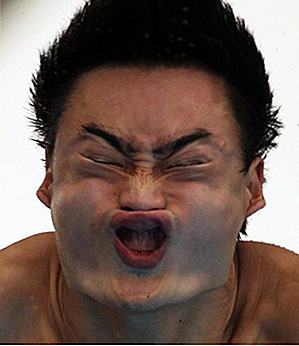 25 Sidesplittingly Funny Olympic Diving Faces